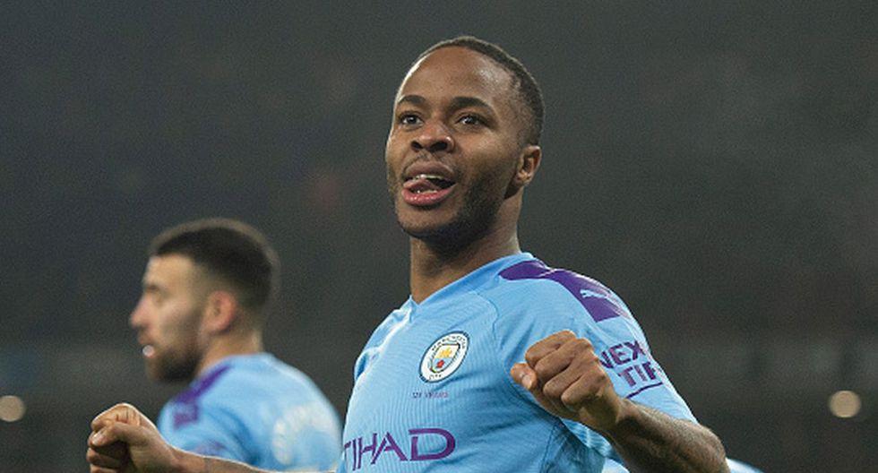 Raheem Sterling del Manchester City. (Foto: Getty)