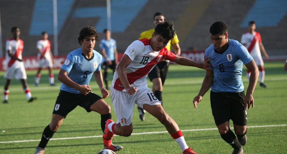 Perú vs. Uruguay en el Hexagonal Final del Sudamericano Sub 17. (Foto: Francisco Neyra / GEC)