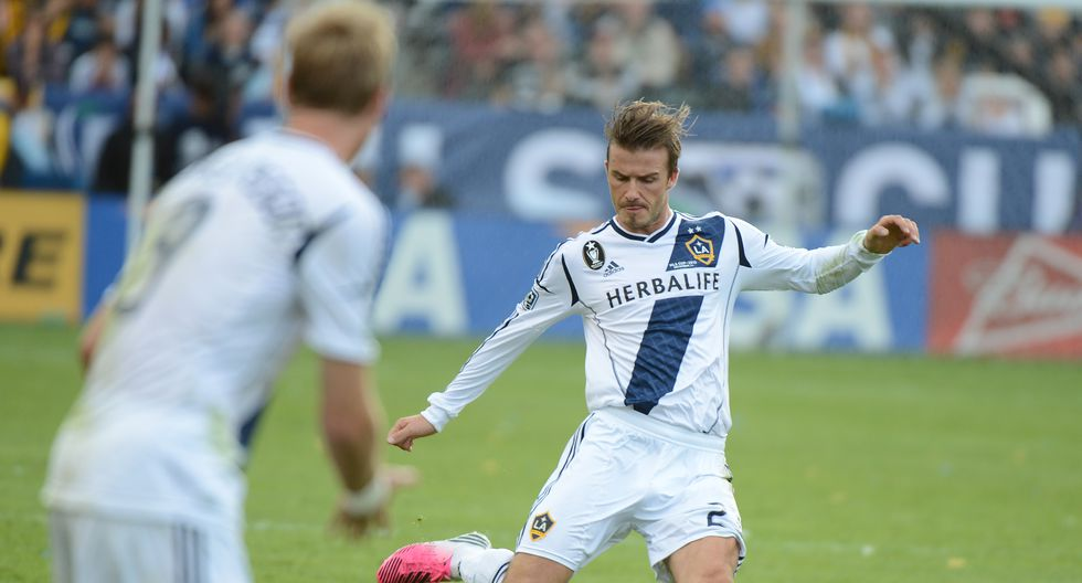 David Beckham - LA Galaxy (2007-2013) (Foto: AFP)
