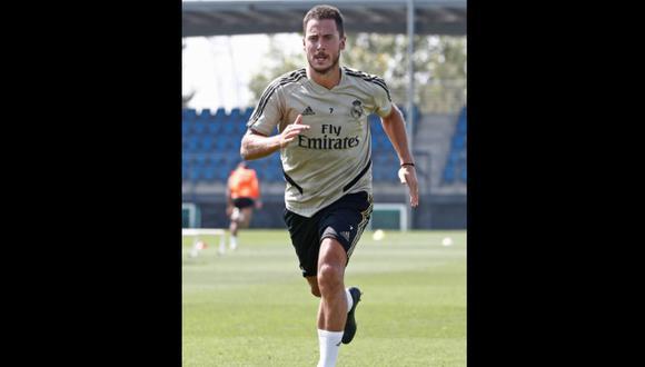 Eden Hazard fue operado a principios de año del tobillo derecho. (Foto: Real Madrid)