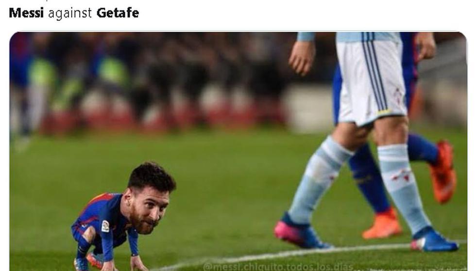 Los mejores memes del Barcelona vs. Getafe por LaLiga.