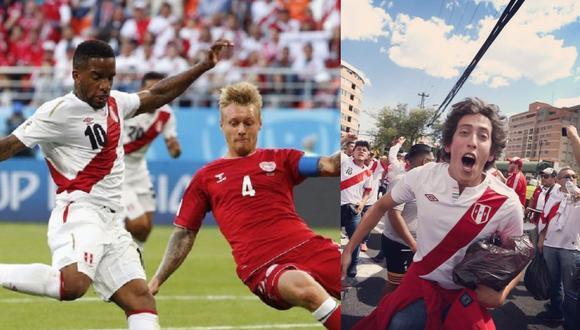 Mateo Garrido Lecca vivió el debut de Perú en Rusia 2018, al lado del hombre que le inculcó esa pasión por el fútbol, su padre