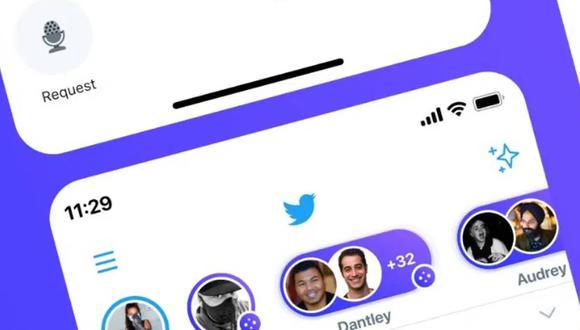 Twitter y el nuevo truco para crear chat de voz en vivo. (Foto: Twitter)