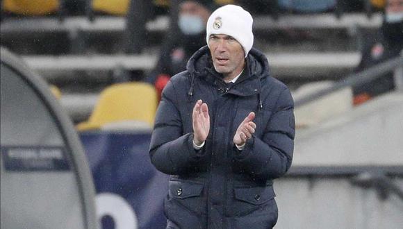 Zinedine Zidane tiene contrato con Real Madrid hasta 2022. (Foto: EFE)