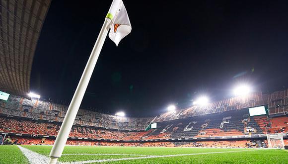 Valencia, primer club de LaLiga en tomar medidas contra el coronavirus tras contagio de periodista de 'El Chiringuito'. (Getty)