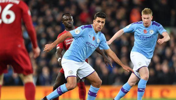 Liverpool vs. Manchester City, por la fecha 13º de la Premier League. (Foto: AFP)