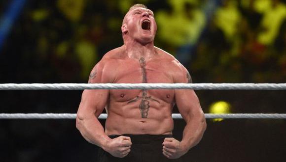 Brock Lesnar volvería al ring en SummerSlam 2021 tras casi un año de ausencia. (WWE)