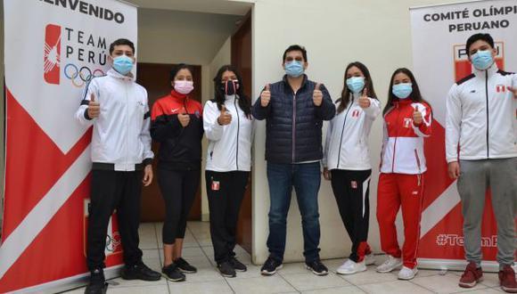 Se inició proceso de vacunación a los deportistas peruanos que nos representarán en los Juegos Panamericanos Junior 2021