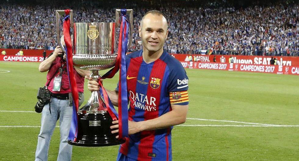 Andrés Iniesta ganó cuatro Champions League con el Barcelona. (Foto: Agencias)