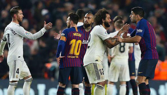 El último Barcelona vs Real Madrid en Camp Nou quedó 5-1. (Foto: Getty Images)