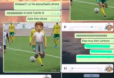La hilarante reacción de una abuela al ver las fotos del novio futbolista de su nieta