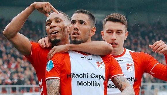 Sergio Peñafue elegido en el once histórico del FC Emmen. (GEC)
