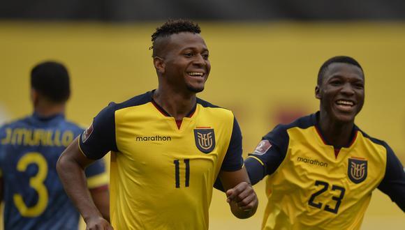 Ecuador ha sumado nueve puntos en las Eliminatorias Qatar 2022. (Foto: AFP)