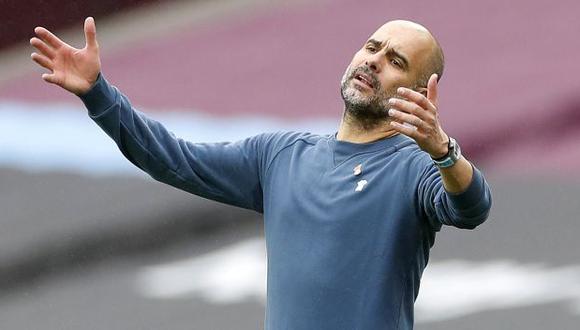 Pep Guardiola es entrenador de Manchester City desde la temporada 2016-17. (Foto: AFP)