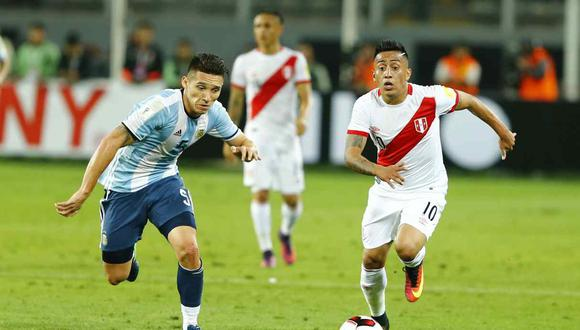 Cueva espera anotar en el Perú vs. Argentina. (Foto: GEC)