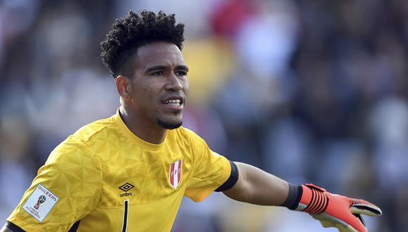 Perú vs. Nueva Zelanda: el nuevo look de Pedro Gallese al estilo del Príncipe del Rap. (AP)