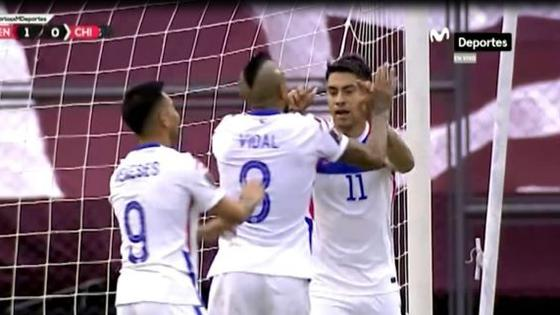 la-eliminatoria-del-rey-asi-marco-arturo-vidal-el-1-1-de-chile-vs-venezuela-en-caracas-video