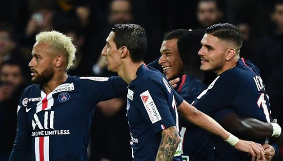PSG buscará la final de la Champions League este martes ante el Leipzig. (AFP)