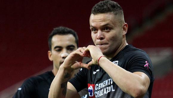 Jonathan Rodriguez  tiene contrato con Cruz Azul hasta fines de 2022. (AFP)