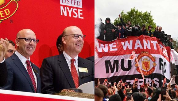En las últimas semana los hinchas del Manchester United protestaron contra los dueños del club. (Foto: Agencias)