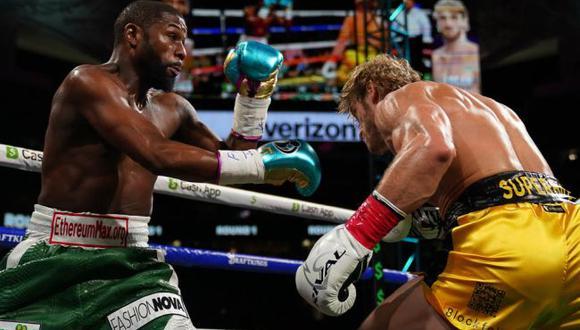 La exorbitante cifra en PPV que generó la pelea de Mayweather contra Logan Paul. (USA TODAY Sports)