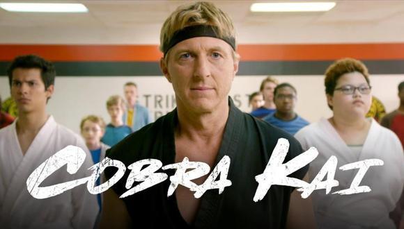 """""""Cobra Kai"""" es el nuevo éxito de Netflix y trae de vuelta la eterna rivalidad entre Johnny Lawrence y Daniel LaRusso, interpretados por William Zabka y Ralph Macchio (Foto: Netflix)"""
