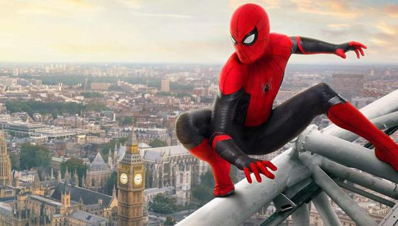 Peter Parker (Tom Holland) se ve en aprietos en 'Spider-Man: Far from Home' (Foto: Marvel Studios / Sony Pictures)