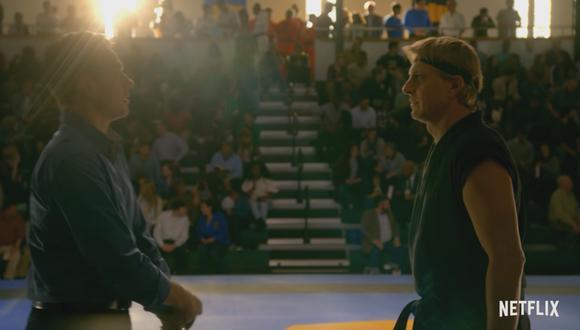 Por lo pronto puedes ver las dos primeras temporadas de Cobra Kai en el servicio de streaming (Foto: Netflix)