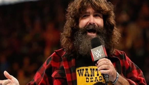 Mick Foley ha sido cuatro veces campeón mundial: tres veces en WWE y una vez en TNA. (Foto: WWE)