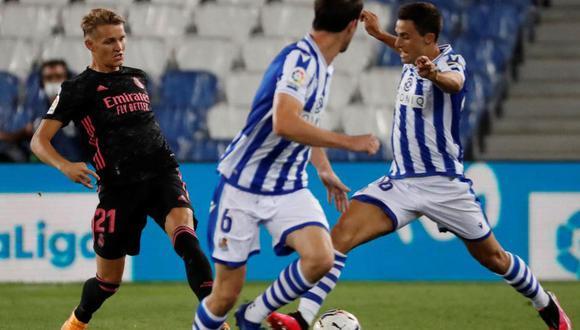 Martín Odegaard fue titular en el encuentro por la fecha 1 ante Real Sociedad. (Foto: Marca)