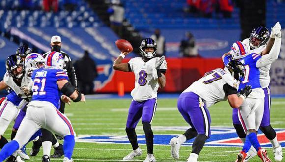 Los Bills derrotaron a los Ravens y estarán en la final de la Conferencia Americana de la NFL. (USA Today Sports)