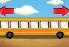 ¿En qué dirección arrancará el bus? El acertijo viral que ha enloquecido a Internet [FOTO]