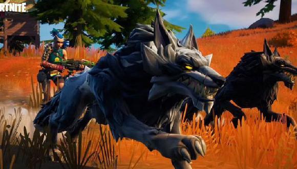 Los lobos recién han llegado a Fortnite