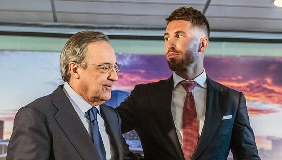 Sergio Ramos llegó al Real Madrid en el 2005 con 19 años. Foto: EFE)