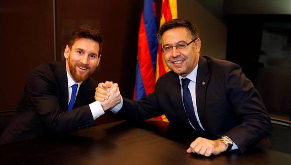 Josep Maria Bartomeu, presidente de Barcelona, se enfrentará a una moción de censura. (Foto: AFP)