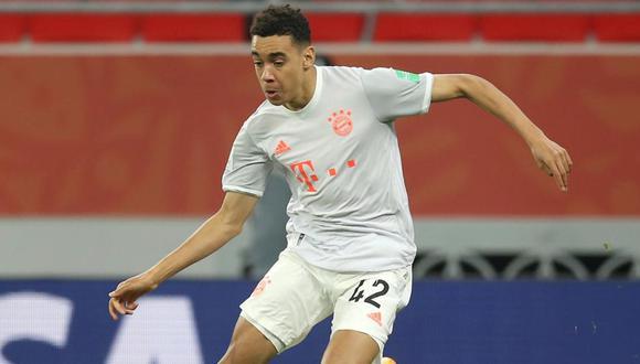 Jamal Musiala tiene contrato con el Bayern Munich hasta el 2026. (Foto: AFP)
