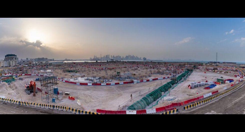 Estadio Ras Abu Aboud Ubicación: Doha, Catar | Capacidad: 44.950 espectadores.