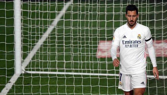 Eden Hazard llegó al Real Madrid en la temporada 2019/2020. (Foto: AFP)