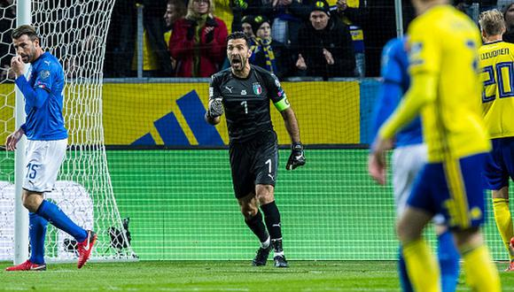 Gianluigi Buffon disputó 5 mundiales de manera consecutiva (Foto: Getty)