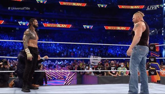 Los mejores momentos de WWE SummerSlam 2021 desde Las Vegas. (WWE)