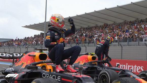 Max Verstappen le saca 12 puntos a Hamilton en el Mundial. (Foto: F1)