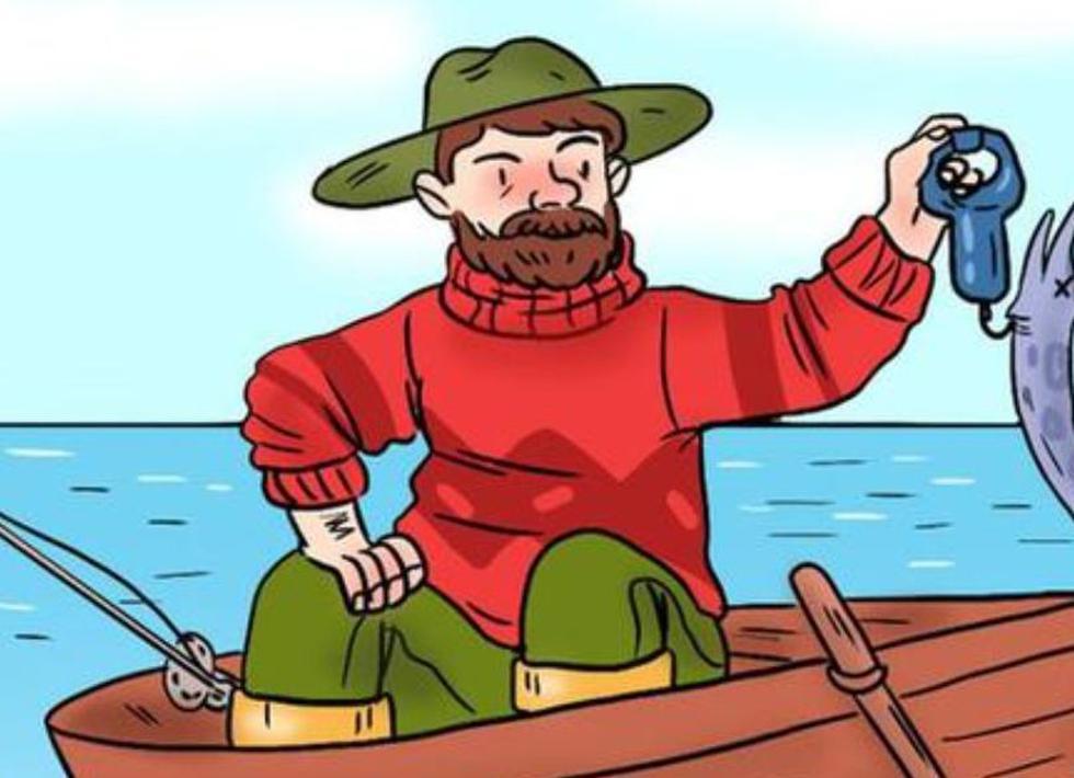 Encuentra el error en la imagen viral del pescador. (Mdzol)