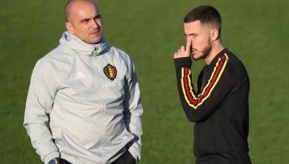 Roberto Martínez convocó a Eden Hazard para disputar la Eurocopa con la Selección de Bélgica. (Foto: Getty Images)