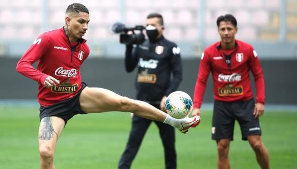 Ricardo Gareca resaltó que Paolo Guerrero podría ser titular en las Eliminatorias. (Foto: FPF)