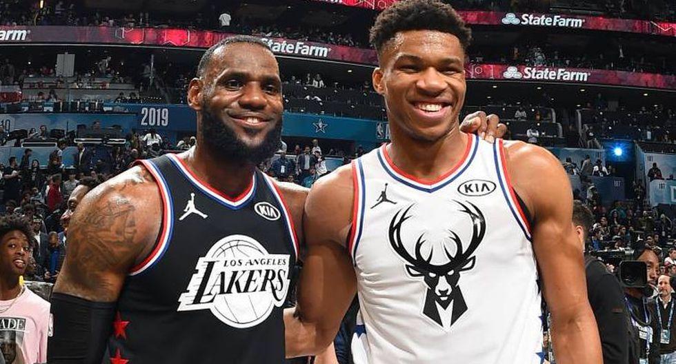 ESTA NOCHE, NBA All Star Game 2020 EN VIVO: horarios, canales y jugadas del Team LeBron vs. Team Giannis desde EUA