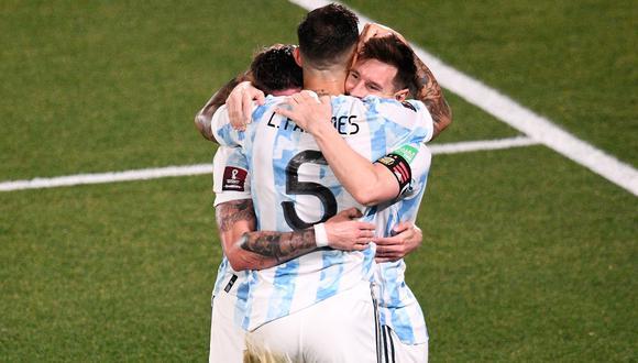 Argentina es segundo en la clasificación rumbo a Qatar 2022. (Foto: Twitter Conmebol).