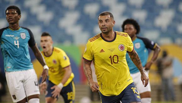 Cardona anotó un golazo tras iniciar una jugada de laboratorio y finalizar la misma con un excelente disparo. | Foto: AFP