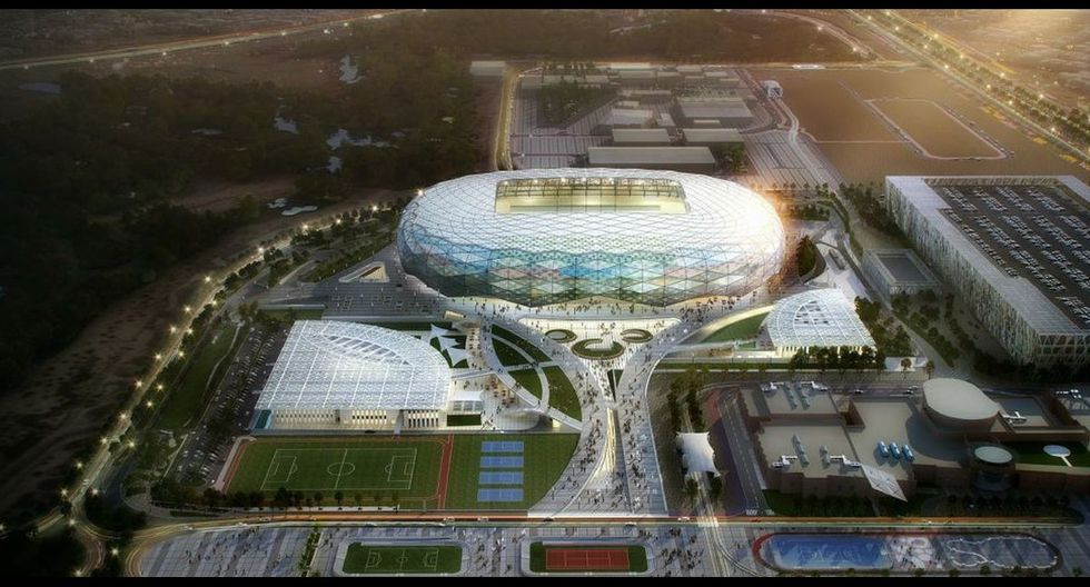 Estadio Qatar Foundation Ubicación: Rayán, Catar | Capacidad: 45.350 espectadores.