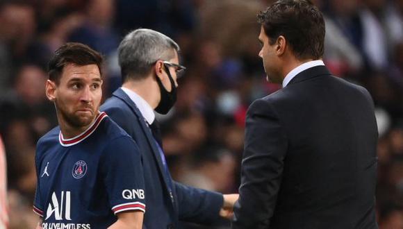 Lionel Messi firmó por dos temporadas con el PSG. (Foto: AFP)