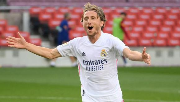 Luka Modric llegó en el 2012, procedente de Tottenham. (Foto: AFP)